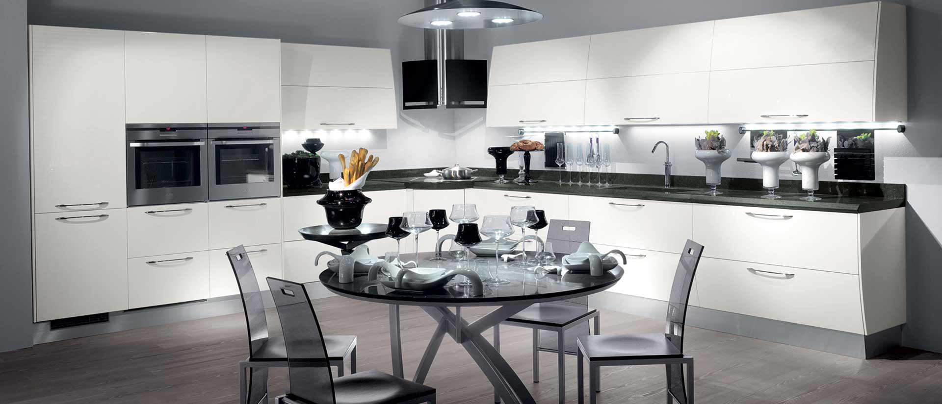 Tutti i dettagli del progetto cucina scavolini flux for Arredo cucina design