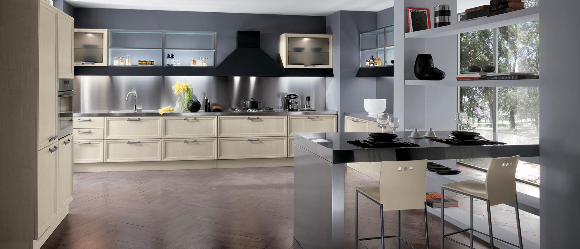 Cucine Componibili Campania.Cucina Scavolini Focus Tra I Progetti Piu Pratici E
