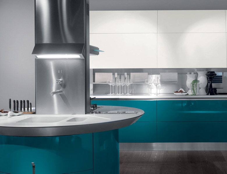 Tutti i dettagli del progetto cucina Scavolini Flux - Casadesign.org