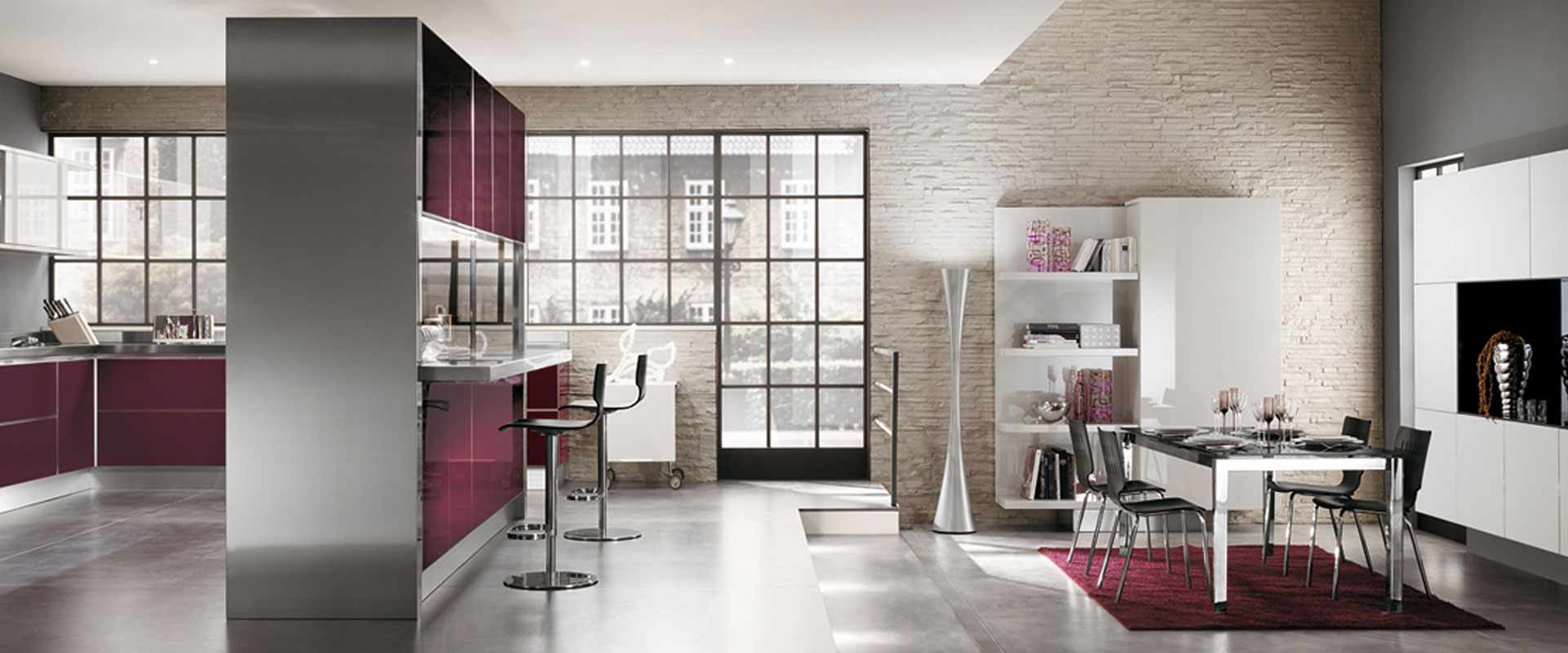 Scenery casadesign for Arredo cucina design