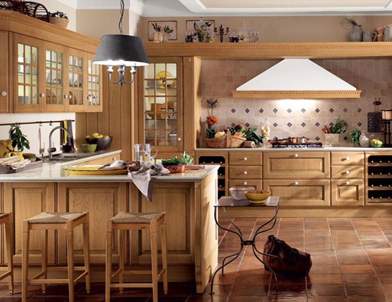 Cucina Scavolini modello Baltimora, scheda approfondita - Casadesign.org