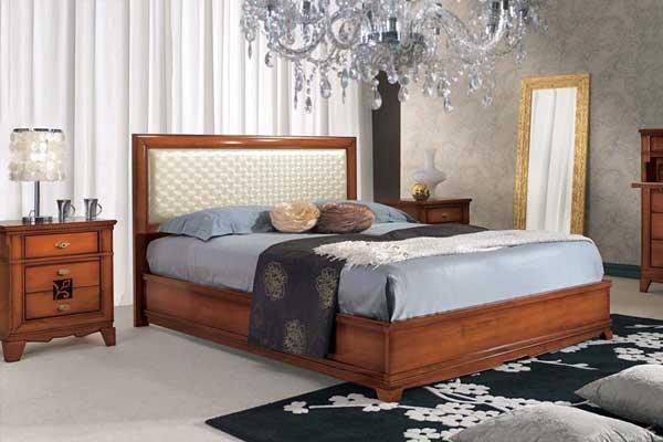 letto-matrimoniale-stile-classico