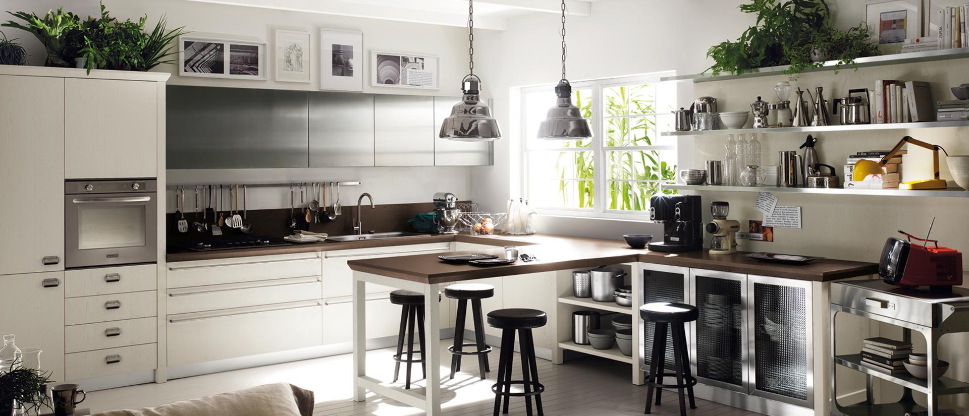 Diesel Social Kitchen, design e qualità per la cucina Scavolini ...