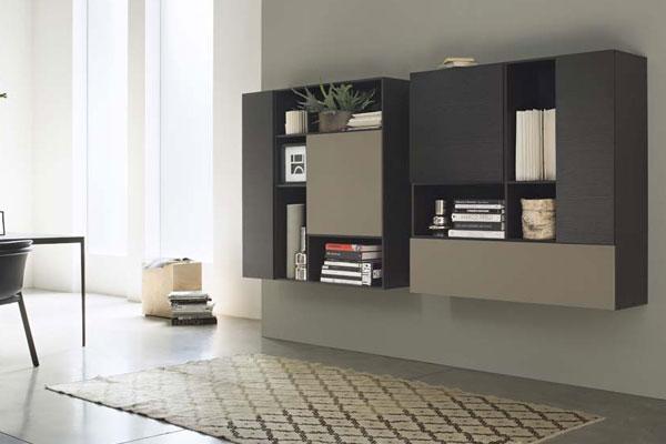 Arredamento living soggiorno pareti attrezzate campania 2 casadesign - Pareti attrezzate design ...