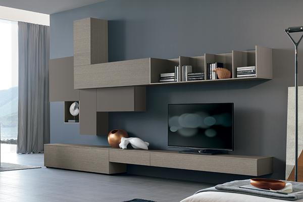Arredamento living, soggiorno, pareti attrezzate campania - casadesign