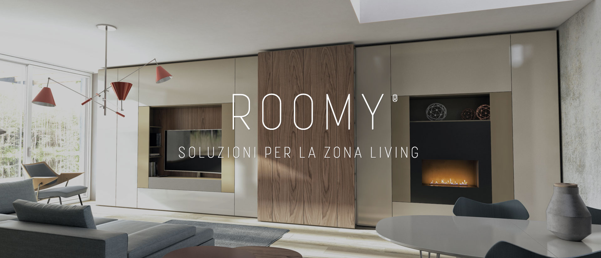 Roomy sistema abitativo casadesign for Arredamenti in campania