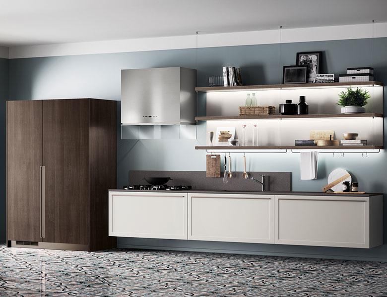 Tutte le caratteristiche della cucina scavolini carattere for Caratteristiche di design della casa
