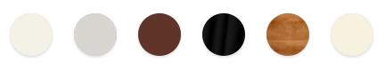 I colori disponibili della cucina Carattere
