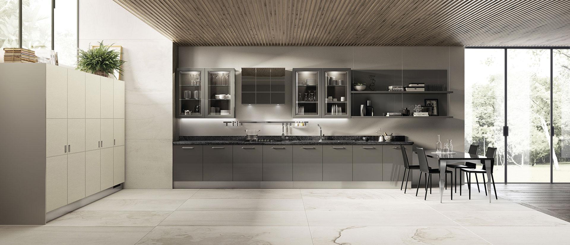 Cucina scavolini exclusiva i dettagli del nuovo progetto for Scavolini pareti attrezzate