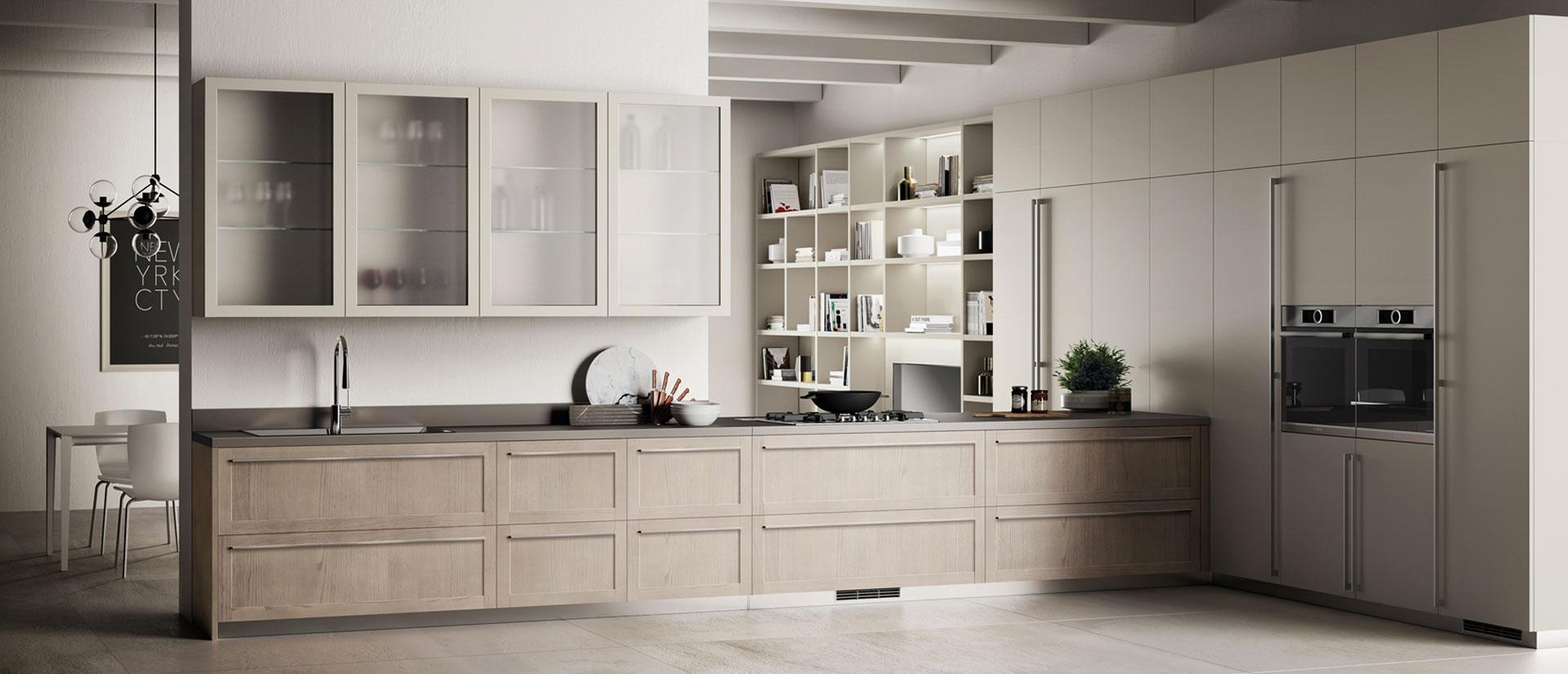 Tutte le caratteristiche della cucina Scavolini Carattere - Casadesign