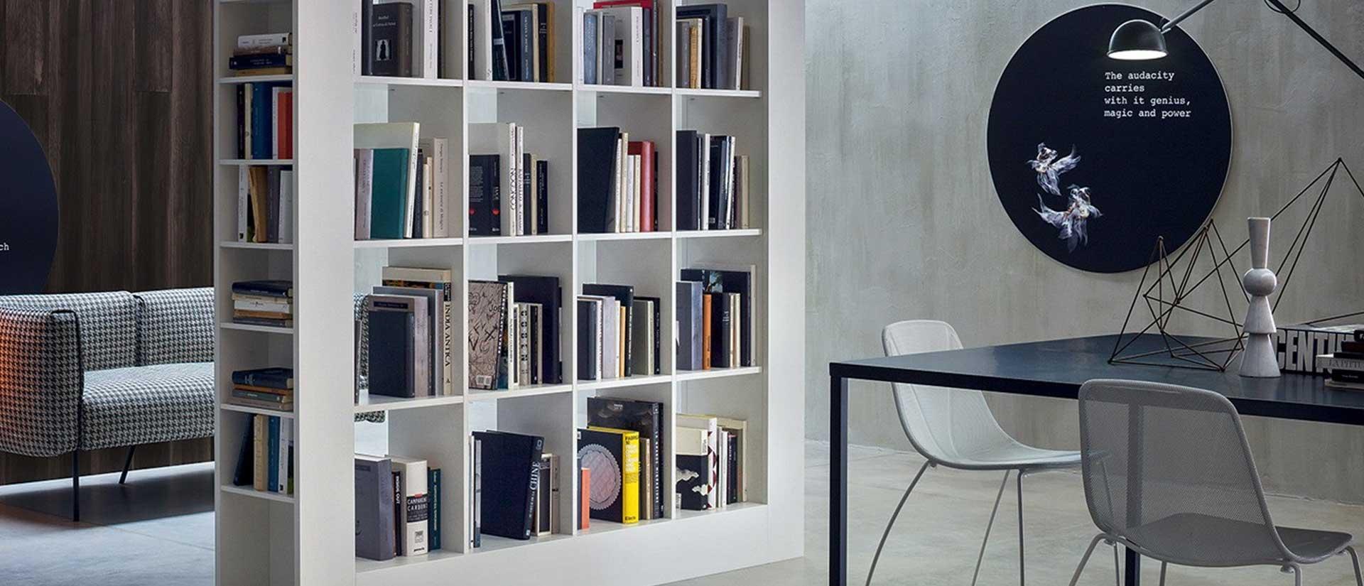 Libreria moderna Frame