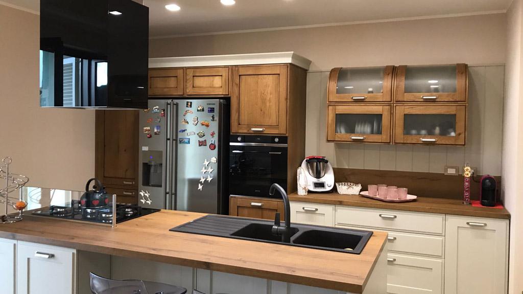Scelta della cucina nella progettazione e arredo d'interni