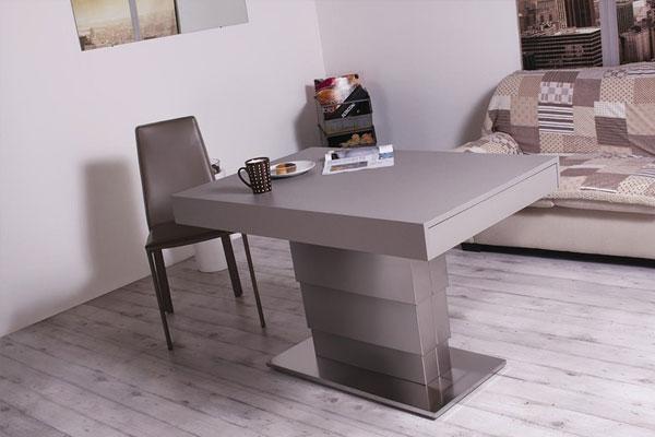 Tavolo da pranzo moderno Ares Motorius, tavolo allungabile ...