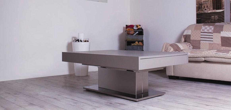 Tavolo da pranzo moderno Ares Motorius, tavolo allungabile moderno
