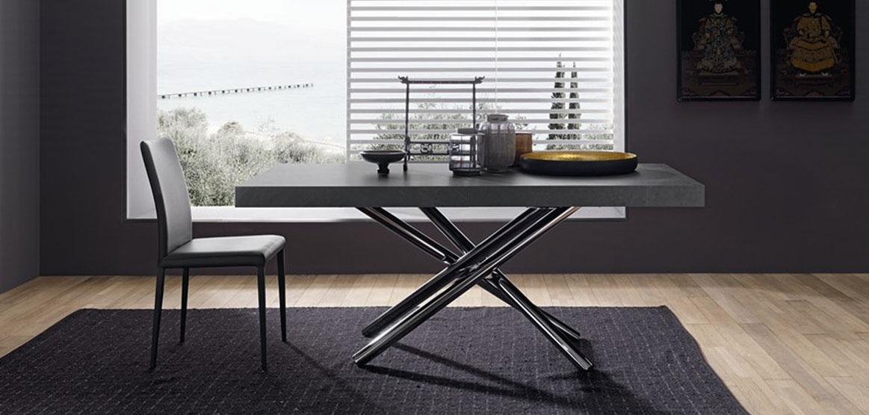 Scheda tecnica del tavolo moderno Fahrenheit