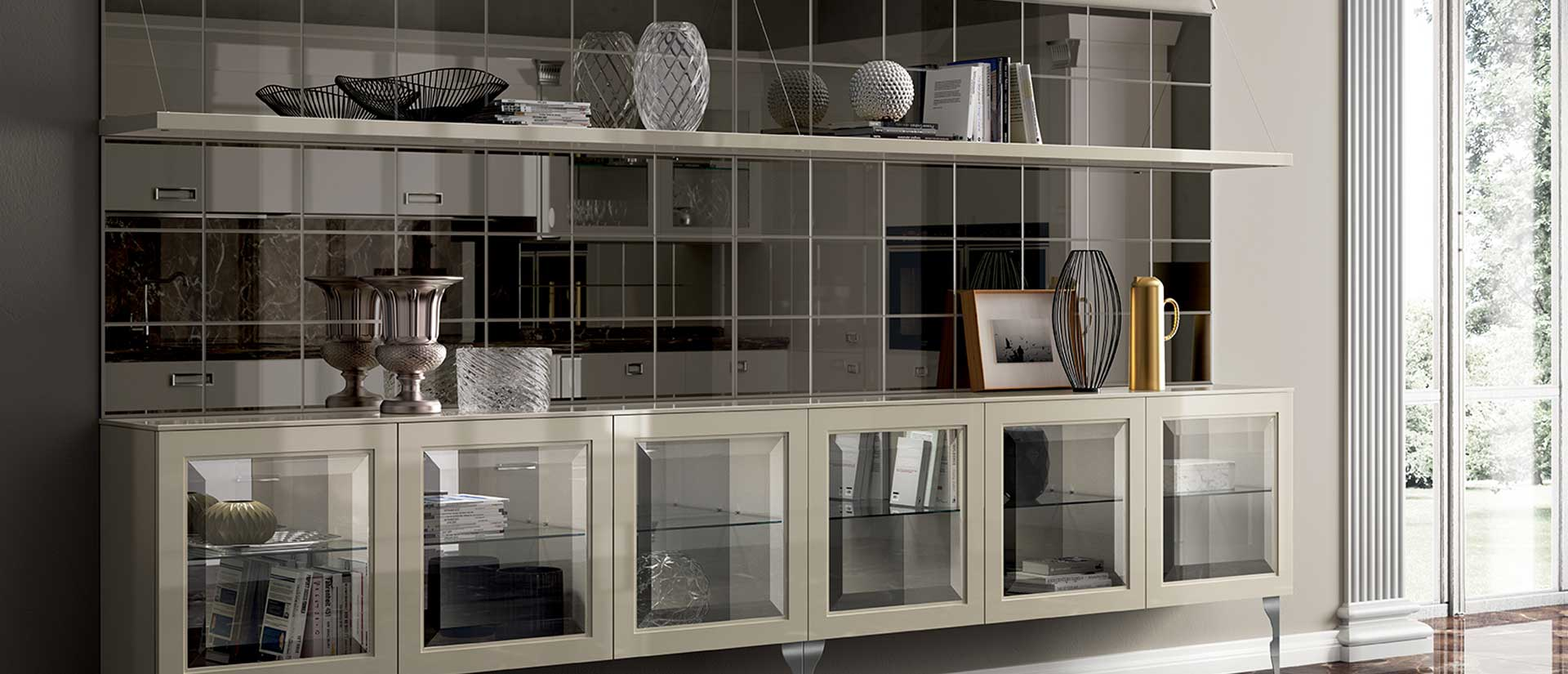 Living Exclusiva | Il nuovo progetto Scavolini per arredo soggiorno.