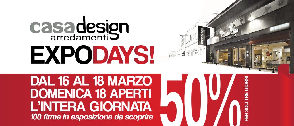 Arredamento In Offerta.Arredamento In Offerta Arrivano Gli Expo Days Casadesign