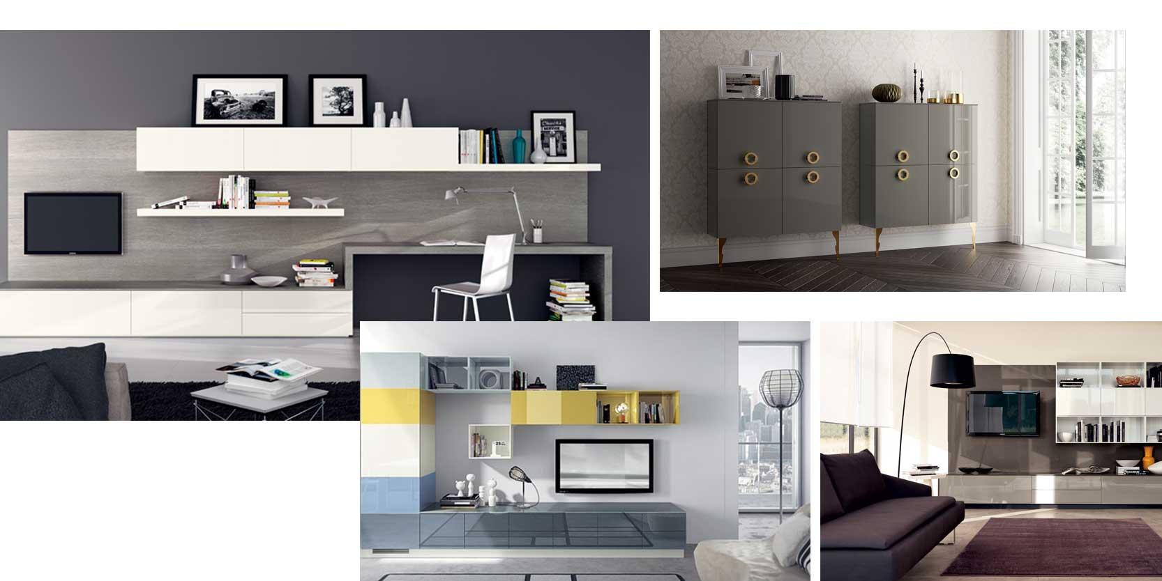 Arredo living e soggiorno in campania scavolini casadesign for Arredo casa design