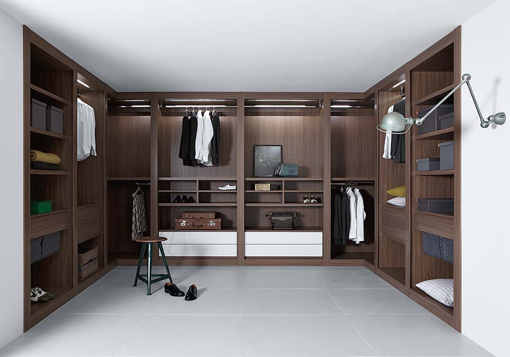 Cabina armadio moderna Sipario | Scheda Tecnica | Casadesign.org