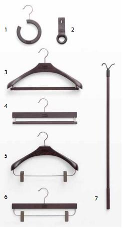 Accessori della cabina armadio Sipario
