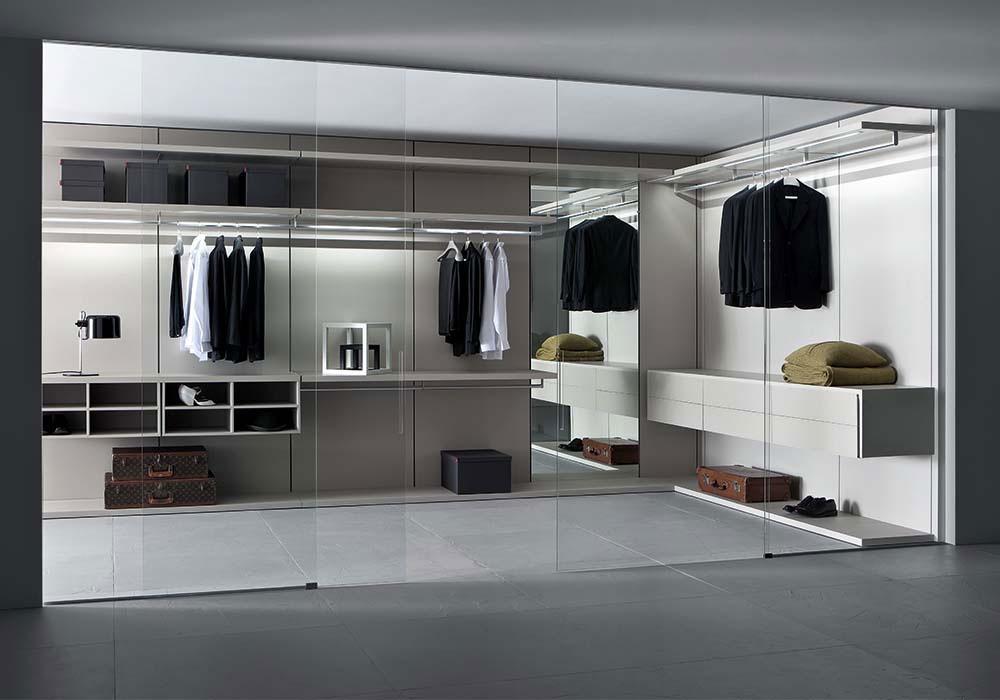 Cabina armadio moderna vista scheda tecnica for Oggettistica per la casa moderna