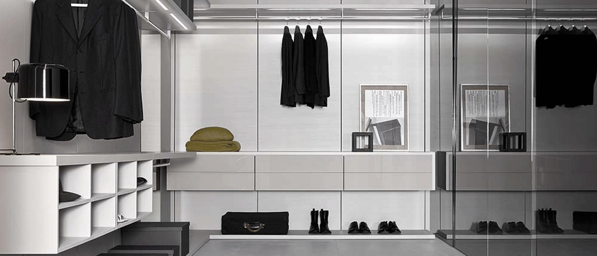 Cabina armadio moderna Anteprima | Scheda Tecnica | Casadesign.org
