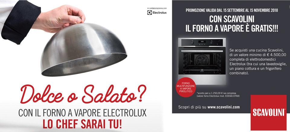 Offerta Scavolini forno a vapore