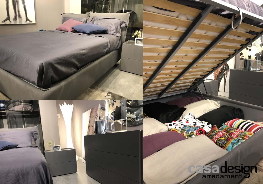 Il letto SO POP in esposizione e in promozionale al mobilificio di Napoli Casadesign arredamenti