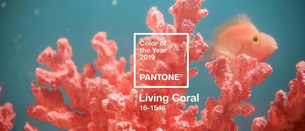 PANTONE® Living Coral nei complementi di arredo