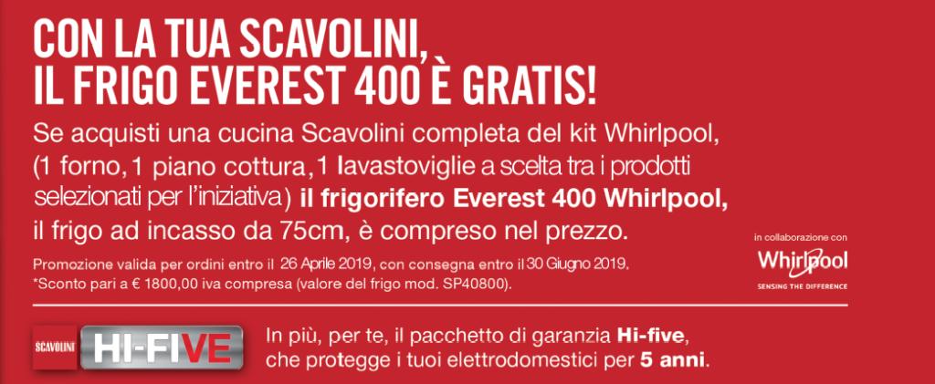 Promozione Scavolini