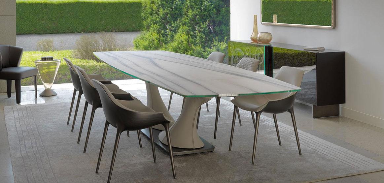 Tavoli In Cristallo Allungabili Reflex.Tavolo Archimede Design Reflex Angelo Casadesign Org