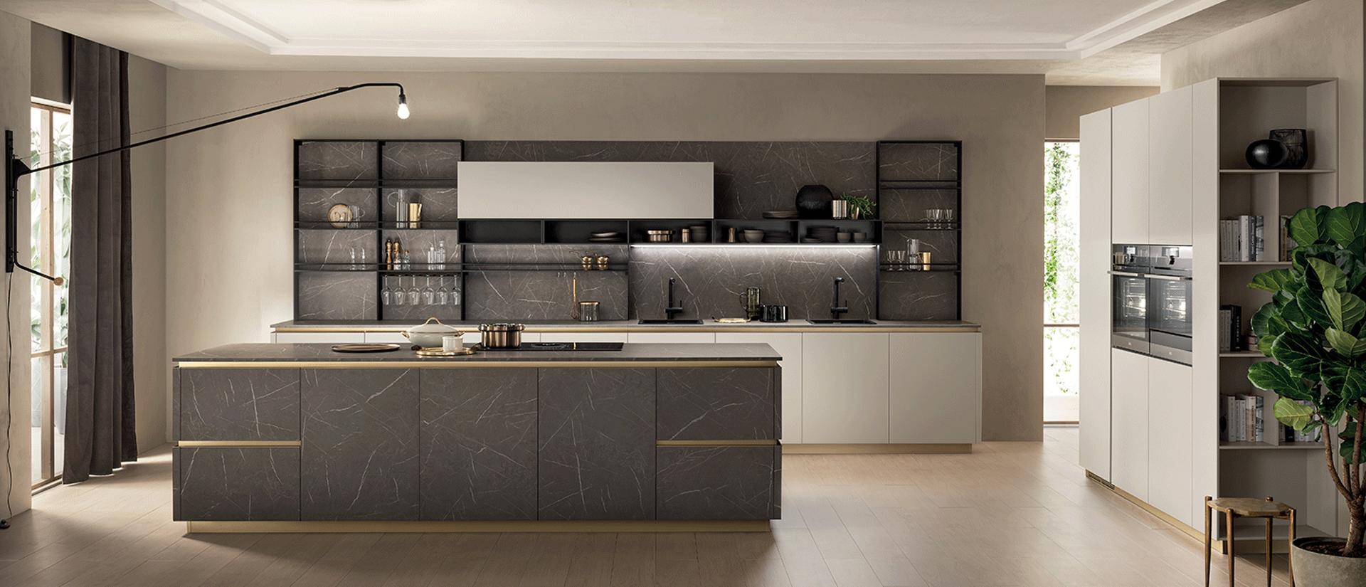 DeLinea di Scavolini | La nuova cucina modulare, elegante e raffinata.