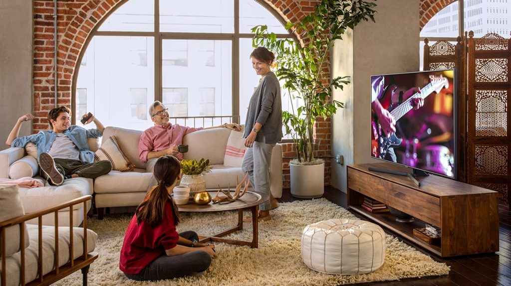 modello TV SAMSUNG UHD 55UE55NU7400UXZT