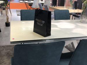 Casadesign arredamenti in Campania presenta la nuova collezione Di Lazzaro ''tavoli e sedie'' e una grande novità all'edizione 2019 della Fiera della Casa di Napoli