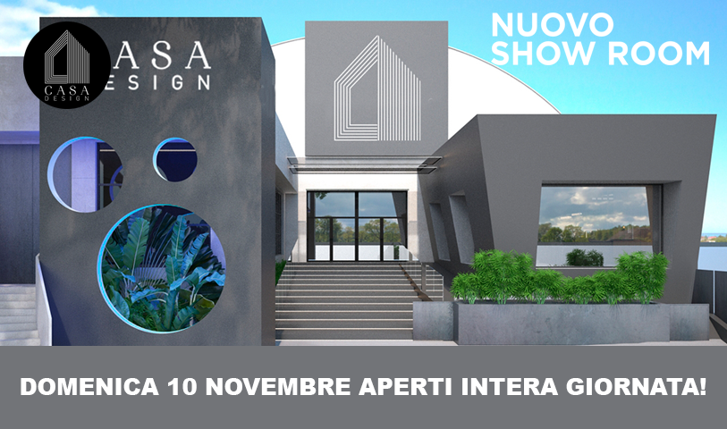 nuovo showroom CasaDesign
