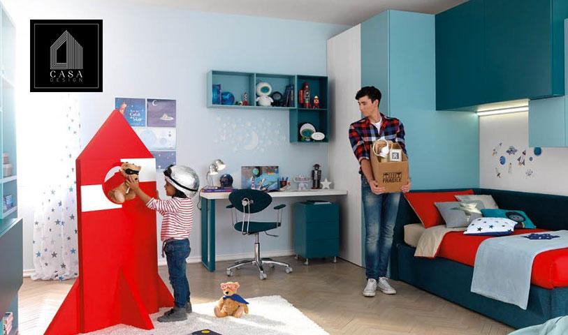 Cameretta componibile e arredamento camerette bambini in campania