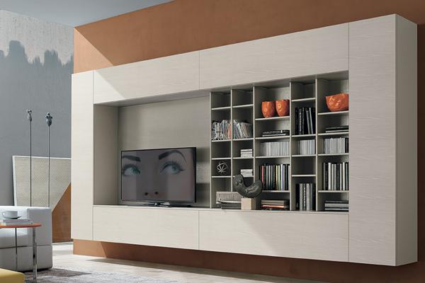 Arredamento living, soggiorno, pareti attrezzate Campania6