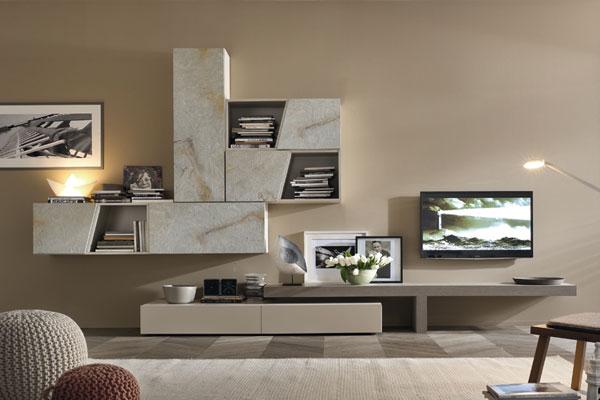 Arredamento-living,-soggiorno,-pareti-attrezzate-campania