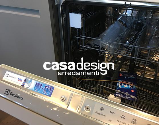 La cucina carattere è munita di lavastoviglie integrata