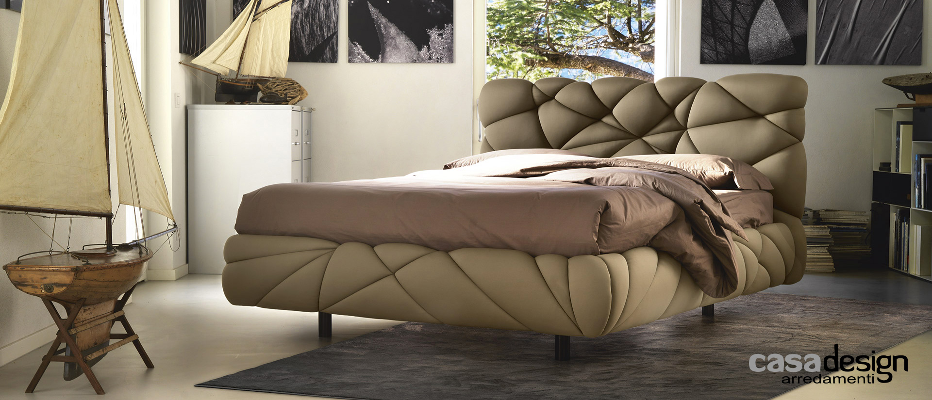 Letto matrimoniale in offerta - casadesign