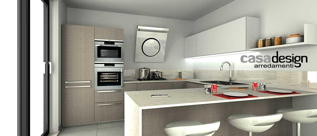 Come realizzare una cucina personalizzata: esempio render digitale casadesign arredamenti