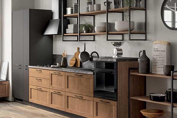 Tutti i dettagli della cucina scavolini sax
