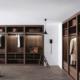 Cabina armadio moderna Sipario