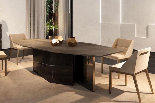 Tavolo da pranzo Cubitum72 collezione Reflex