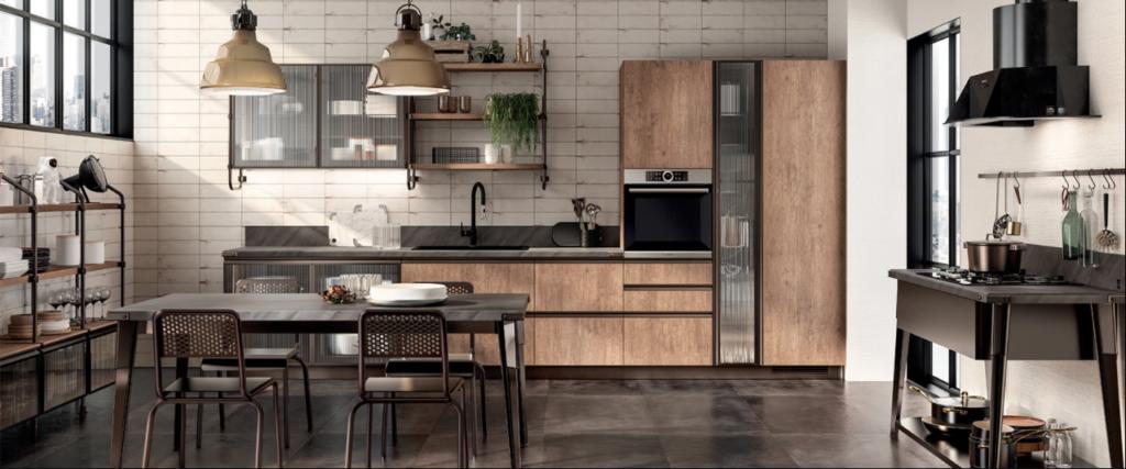 cucina in stile industriale ed urban Diesel Open Workshop2