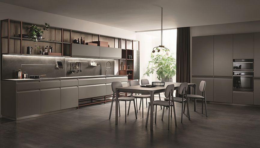 Formalia, il nuovo sistema casa firmato Scavolini, è un sistema di arredamento integrato.