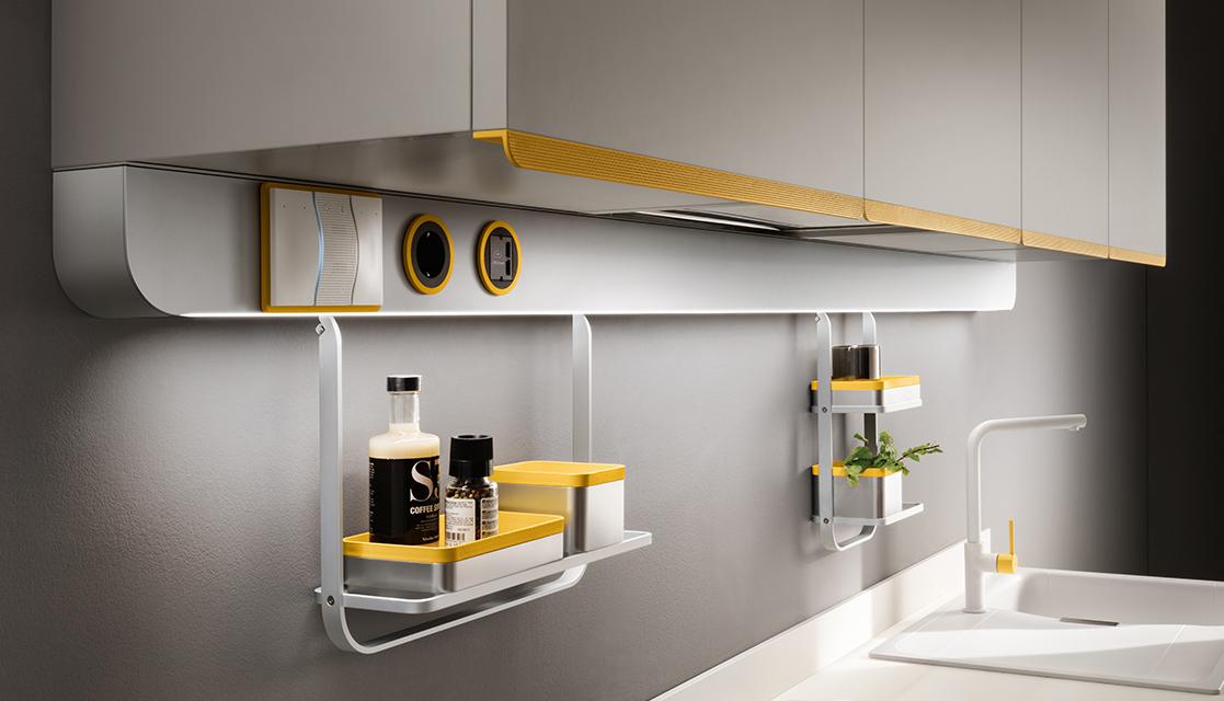 cucina dandy plus integrata con Alexa.