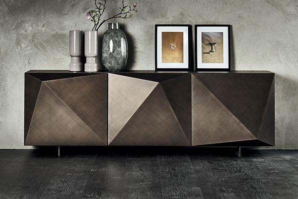 Madia Cattelan in esposizione al mobilificio Casa Design Arredamenti.