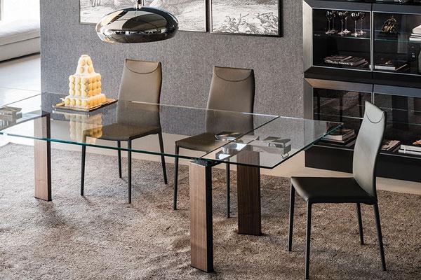 Daytona, tavolo allungabile collezione Cattelan