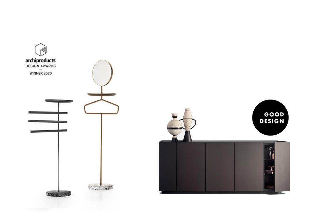 Good Design Award 2020, la vincitrice è la Madia Cornice della Collazione Pianca